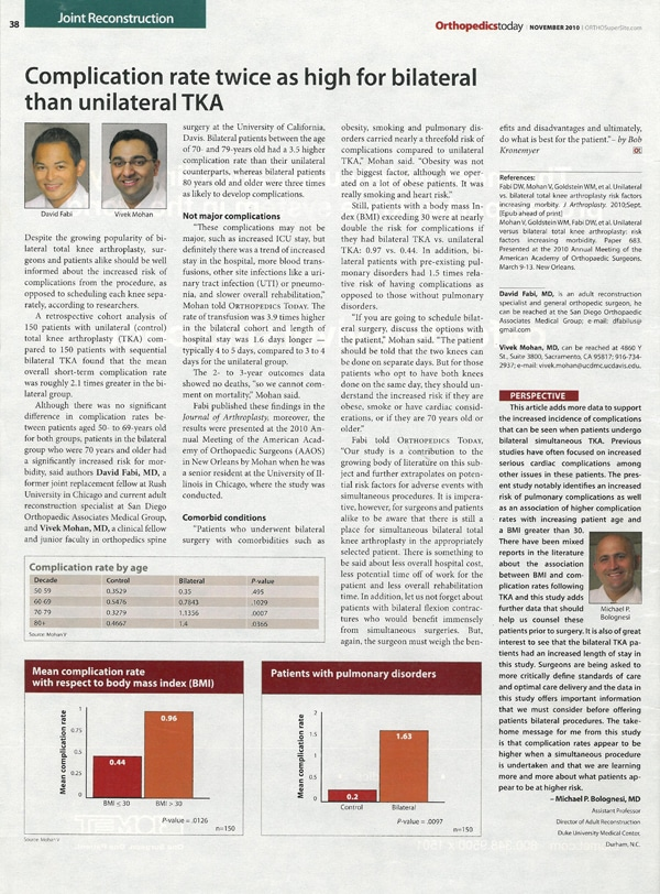 orthopedics today article nov 2010